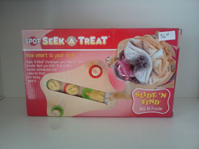 Seek a Treat puzzle toy